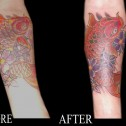Tatuaje-arreglo-Carpa-Koi