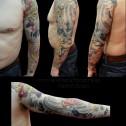 Tatuaje-brazo-japones