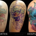 Cover Up Calavera