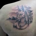Tatuaje Anubis