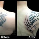 Tatuaje Tribal Arreglo