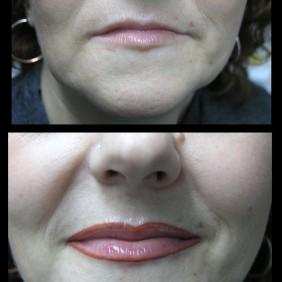 Maquillaje Labios Semipermanente
