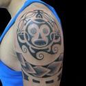 Tatuaje Maori Tribal