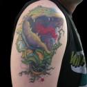 Tatuaje Planta Carnivora