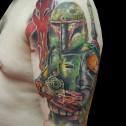 Tatuaje Boba Fett Star Wars