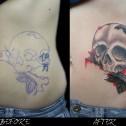 Tatuaje Cover Calavera