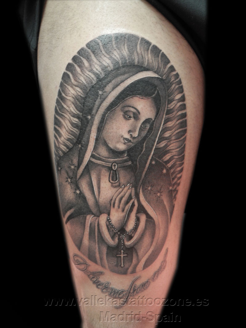 virgen maria tattoo designs pictures to pin on pinterest tattooskid. Black Bedroom Furniture Sets. Home Design Ideas