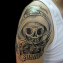 Tatuaje Calavera Mariachi