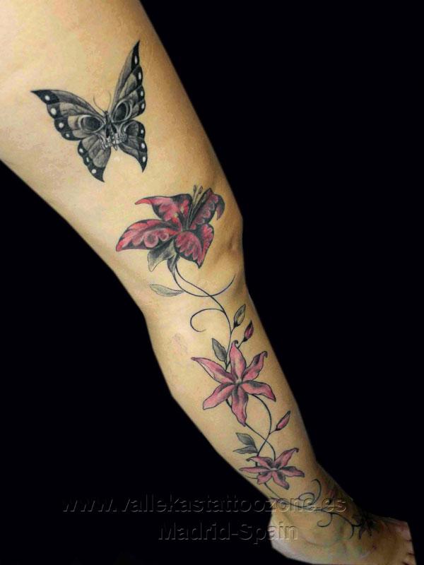 Tatuajes de enredaderas y flores car interior design - Enredaderas de interior ...