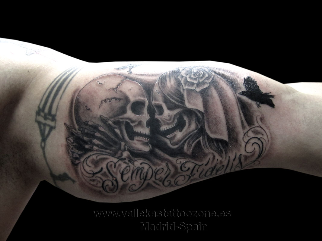 Tatuajes piercings y laser en vallecas madrid tatuaje calaveras beso thecheapjerseys Images