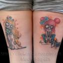 Tatuaje Zombie Dolls
