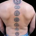 Tatuaje 7 Chakras