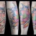 Tatuaje Cover Flor de Loto
