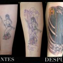 Tatuaje Coverup Muerte