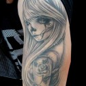 Tatuaje chica Chola