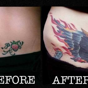 Tatuaje Cover Ala Ave Fenix