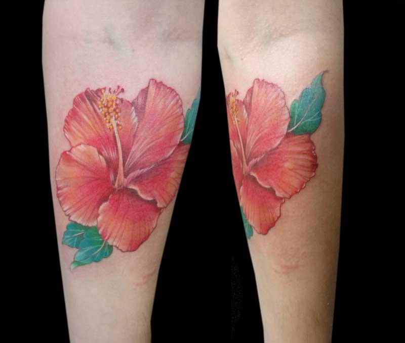 Flores Tatuajes Tatuajes De Flores Atrapasueos Y Flores Conoces - Flor-hawaiana-tattoo