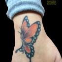 Tatuaje Mariposa en Mano