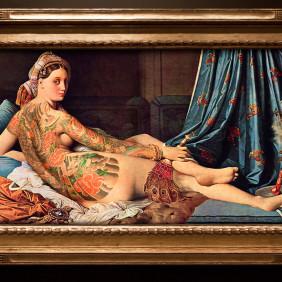 Obras de arte históricas tatuadas!!!