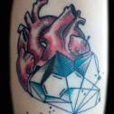 Tatuaje Corazón Anatomico
