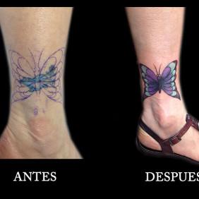 Tatuaje Cover Mariposa
