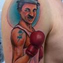 Tatuaje Charlo Boxeador
