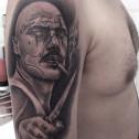 Tatuaje Retrato Chicano
